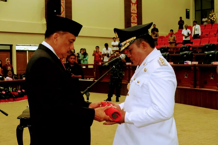 Dedi Abdul Hamid Resmi Dilantik Wakil Bupati Bolsel