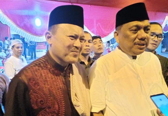 H2M Hadiri Undangan Buka Puasa Bersama DPC PDIP Manado