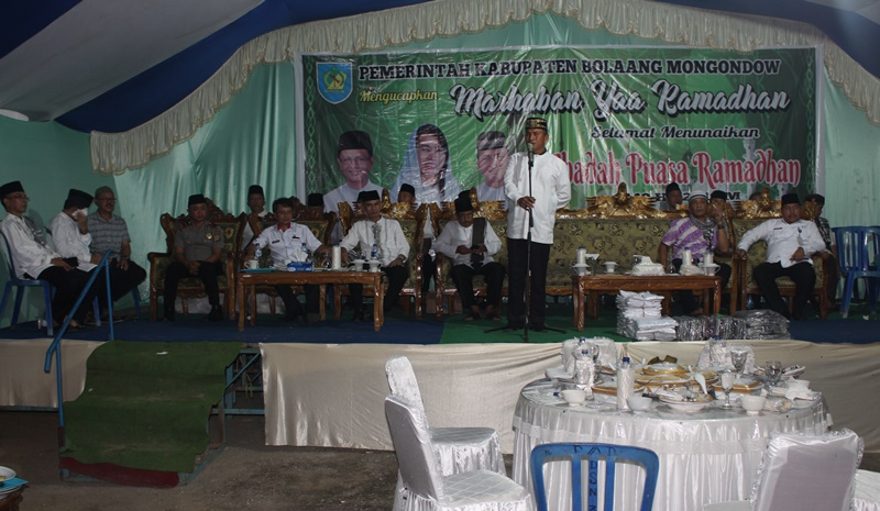 Tahlis Ajak Warga Bolmong Kembali Pererat Silaturahmi