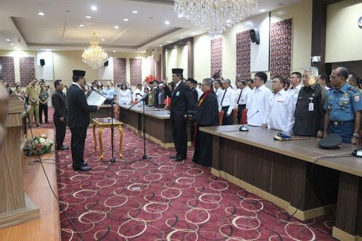 Wabup Bolsel Hadiri Pelantikan Kepala Perwakilan BPKP Sulut