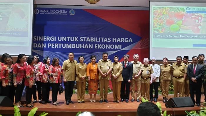 Bupati Bolmong Hadiri Rakor High Level Meeting Bersama Pemprov Sulut