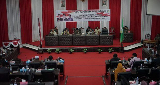 Miris, Anggota DPRD Kotamobagu Bikin Kopi dan  Cuci Gelas Sendiri
