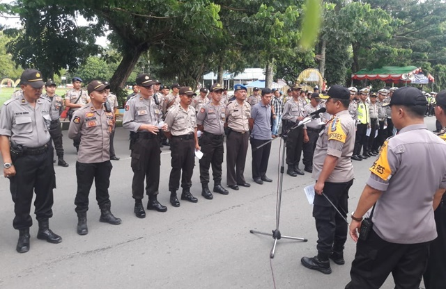 Polres Kotamobagu dan Kodim 1303 Bolmong Sukses Amankan Mudik dan Arus Balik Lebaran 2019