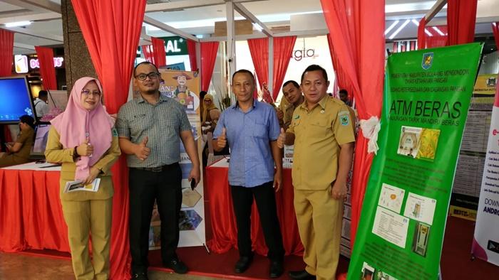 SiAras dan SiKetan Milik Pemkab Bolmong Hadir di Pameran Inovasi