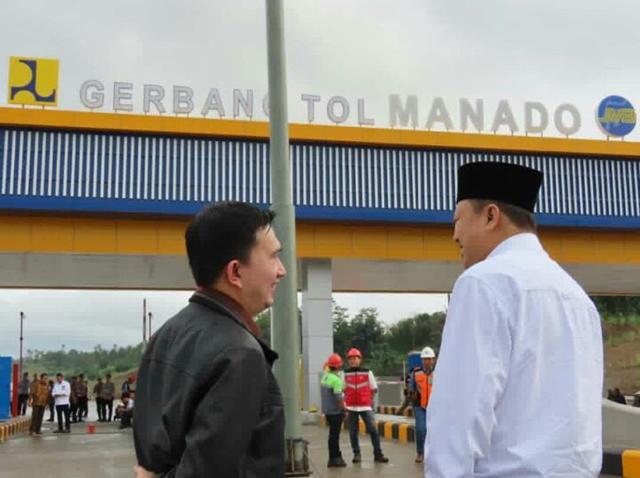 Komisi V DPR RI Tinjau Pembangunan Tol Manado - Bitung
