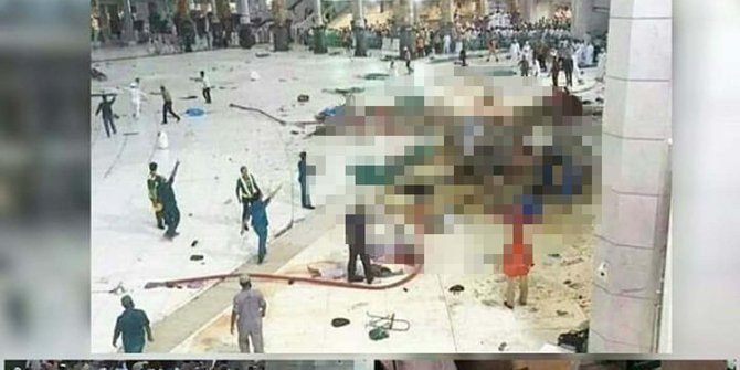 31 Jamaah haji Indonesia masih dirawat akibat insiden crane jatuh