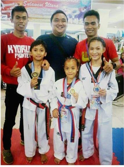 Altit Taekwondo BMR yang mendapat medali emas