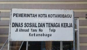 Dinas sosial dan tenaga kerja