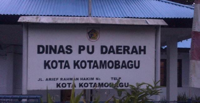 Dinas PU Kotamobagu