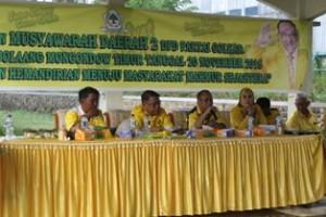 Musda Golkar Boltim Yang Digelar di Tobongon Resort