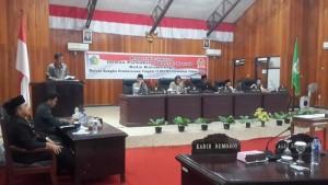Pandangan fraksi GKIRS atas pembicaraan tingkat II revisi RPJMD periode 2013-2018