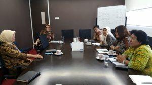 Pertemuan dengan Sekertariat Ditjen Bina Administrasi Kewilayahan Kementerian Dalam Negeri