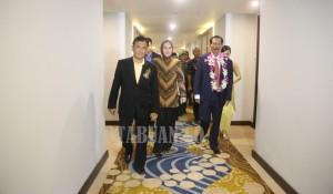 Walikota Kotamobagu saat melihat keberadaan Hotel Sutan Raja usai diresmikan