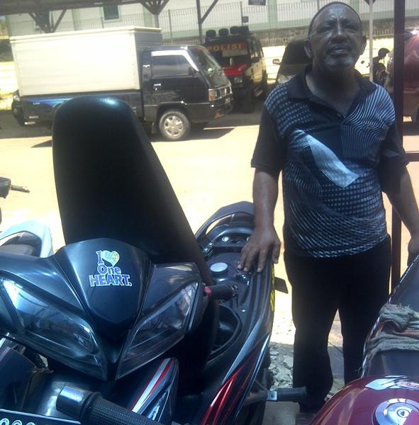 Motor Blade Asal Manado Ditemukan di Bungkuday