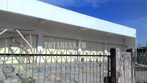 Salah Satu Bangunan di Kotamobagu yang Diduga Tanpa Dokumen IMB. (f-rez/tco)