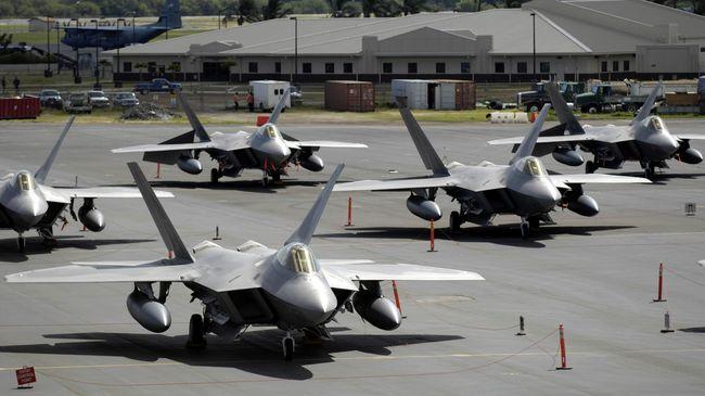 Amerika Serikat Kirim Jet Siluman untuk Patroli di Eropa