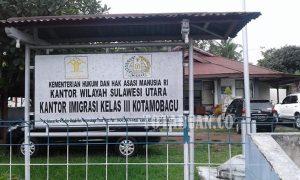 Kantor Imigrasi Kelas III Kotamobagu. (f-epi/tco)